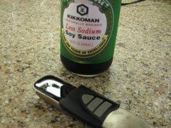 Stir in Soy Sauce