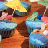 Thumbnail image for Day at the Beach Cupcakes