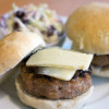 Thumbnail image for Onion Studded Hamburger Rolls