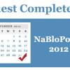Thumbnail image for Quest Complete: NaBloPoMo 2012